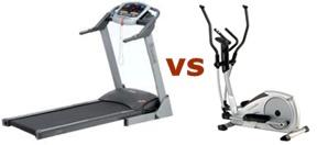 Laufband oder Crosstrainer